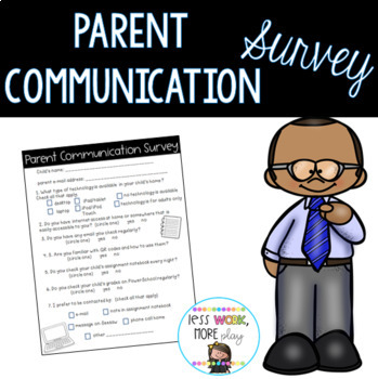 Parent Technology Survey - Beginning of Year