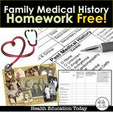 Parent-Teen Communicator Homework: Family Medical History FREE!