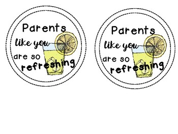 Parent Thank You Gift Tags