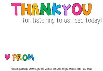 Parent Thankyou Poster