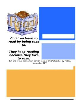 Parent Training Permission Form