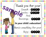 Parent Treat Sign