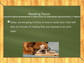 Parent University- Literacy Night