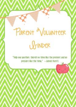 Parent Volunteer Binder