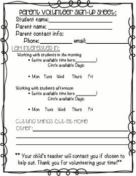 Class Party Sign Up Sheet Template from ecdn.teacherspayteachers.com