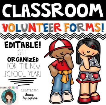 Parent Volunteer Forms!