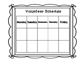 Parent Volunteer Forms - Print and Go- Includes Confirmation Letter ESL friendly