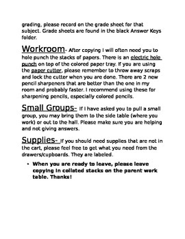 Parent Volunteer Handbook