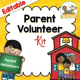 Parent Volunteer Kit for Pre-K and Kindergarten