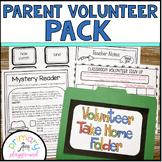 Parent Volunteer Pack ~  Editable!