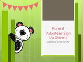 Parent Volunteer Sign Up