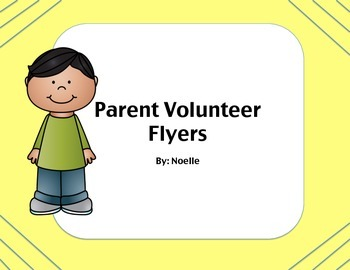 Open House- Parent Volunteer Sign Up