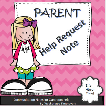 Parent Volunteer Sign-Up Note