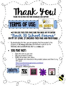 Parent Volunteer Survey (Back to School Form)