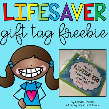 You're a Lifesaver! {freebie!}
