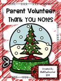 Parent Volunteer Thank You Tags