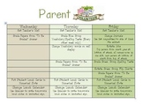 "Parent Volunteer ""To Do"" List"