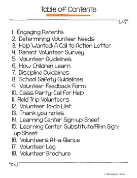 Parent Volunteers: Recruiting, Managing Maintaining