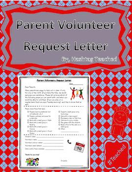 Parent volunteers request letter form by hashtag teached tpt parent volunteers request letter form spiritdancerdesigns Images