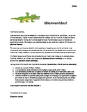 Parent Welcome Letter Spanish