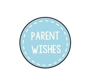 Parent Wish Jar