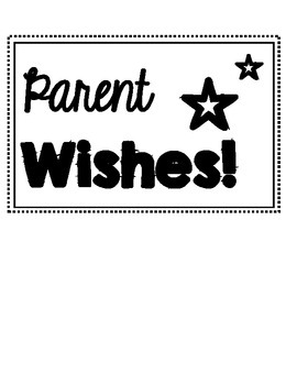 Parent Wishes