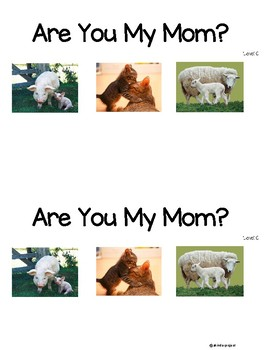 Parent and Baby Level C Guided Reading book with lesson plans *SCIENCE