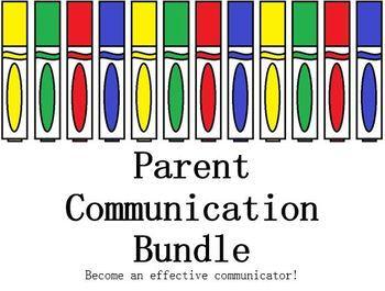 Parent and Guardian Communication Bundle