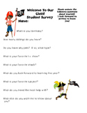 Parent and Student Pirate Survey...Back to School featurin