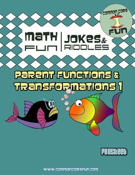 Parent FUNctions and Transformations v1