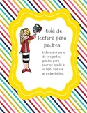 Parent guide for reading in SPANISH