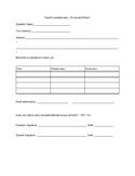 Parent info sheet