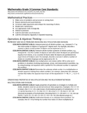 Grade 3 Common Core Standards (Math, Reading, Language Art