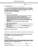 Parent letter for student success plan