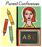 Parent or PTO/PTA Conference Sign-In Sheet
