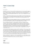 Parent permission letter to use ClassDojo
