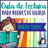 Parent's Guide to Reading: First Grade Edition IN SPANISH