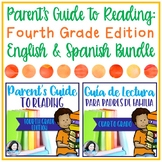 Parent's Guide to Reading: Fourth Grade Edition- English & Spanish Bundle