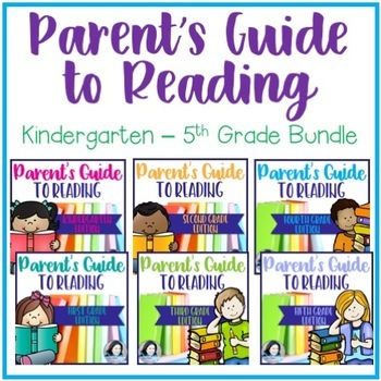 Parent's Guide to Reading: K-5 Bundle for One Teacher