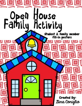 Parent/Child Open House Activity