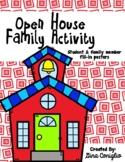 Open House Family Activity