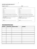 Parent/Guardian Contact Form