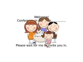 Parent/Teacher Conference Sign
