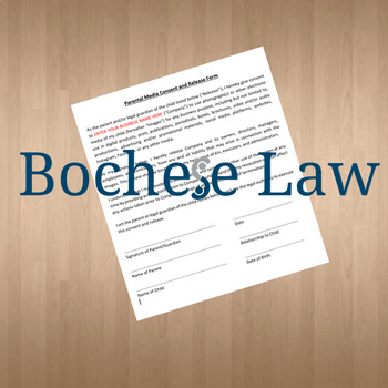 Parental Media Consent and Release Form
