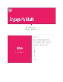 Parent helper for Engage Ny / Eureka Math Grade 6 Module 3