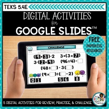 Parentheses Brackets Numerical Expressions Google Classroom   Distance Learning