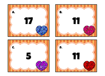 Parenthesis Scoot Game (Order of Operations)