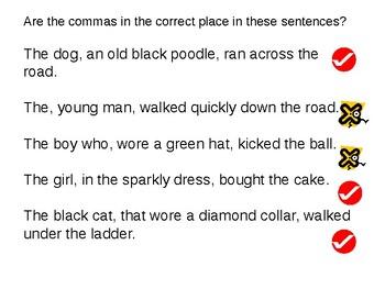Parenthetic Commas