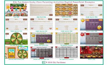 Parenting Activities Kooky Class English PowerPoint Game