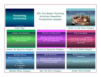 Parenting Activities PowerPoint Presentation